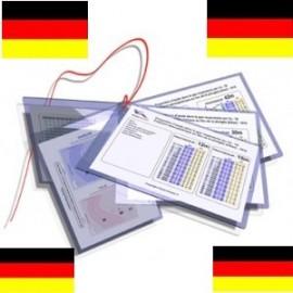 Table de decompression (notice en allemand)