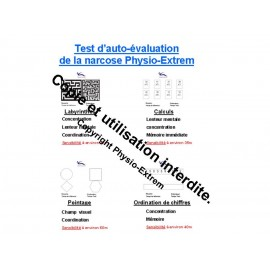 Poster présentation test narcose.